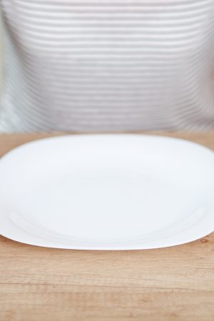 The empty plate