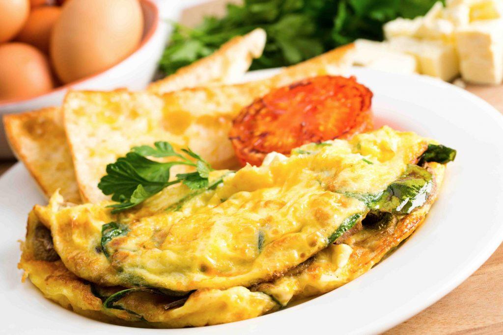 Omelete É Rico em Proteínas