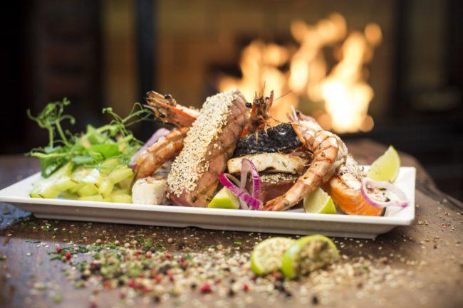 Carnes, frutos do mar