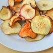 Chips de Maçã: Doce Caseiro e Saudável. Imagem: (Divulgação)