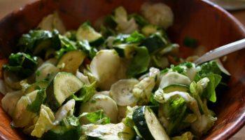 Salada de Pepino. Imagem: (Divulgação)