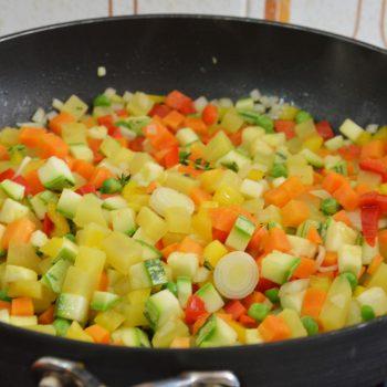 Vegetais Salteados. Imagem: (Divulgação)