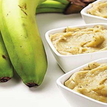 Biomassa de Banana Verde. Imagem: (Divulgação)