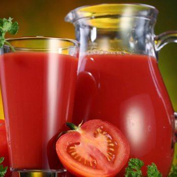 Suco de Tomate com Pepino . Imagem: (Divulgação)