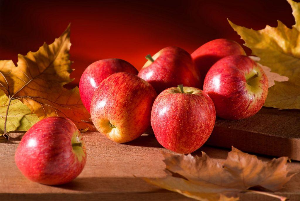 Maçã é uma das frutas mais saudáveis.
