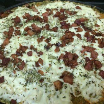 Pizza Low carb. Imagem: (Divulgação)