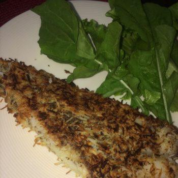 Peixe Empanado (Low Carb). Imagem: (Divulgação)