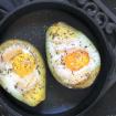Alimentos para Secar Barriga: ovos e abacate. Imagem: (Divulgação)