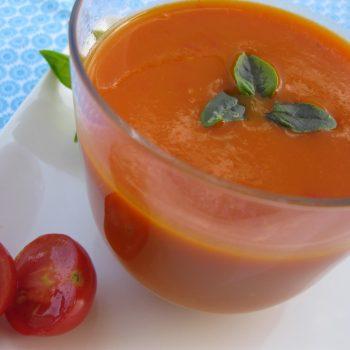 Sopa de Tomate. Imagem: (Divulgação)