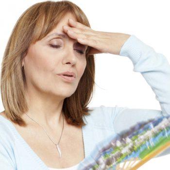 Sintomas da Menopausa. Imagem: (Divulgação)