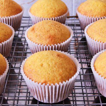 Cupcake de Cenoura. Imagem: (Divulgação)
