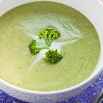 Sopa Cremosa de Brócolis. Imagem: (Divulgação)
