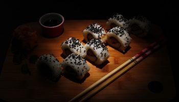Sushi Vegano Low Carb de Couve-flor