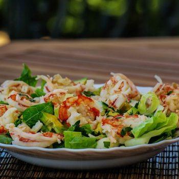 Receita: Salada de Camarão e Quinoa