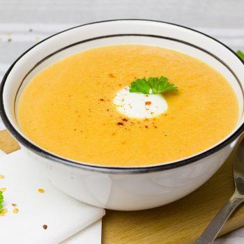 Sopa de Cenoura. Imagem: (Divulgação)