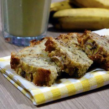 Bolo Vegano De Banana. Imagem: (Divulgação)