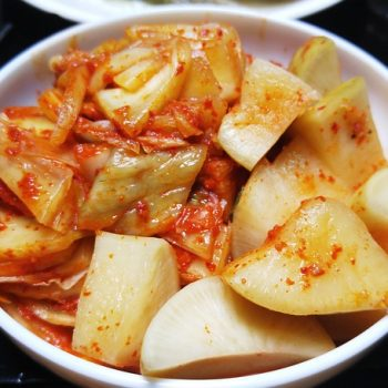 Emagrecer com alimentos probióticos: Kimchi. Imagem: (Divulgação)