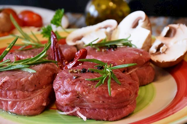 carne vermelha proteina
