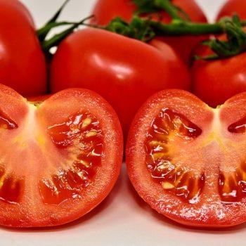 Alimentos Ricos em Potássio: Tomate. Imagem: (Divulgação)