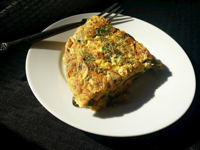 omlete no pos treino