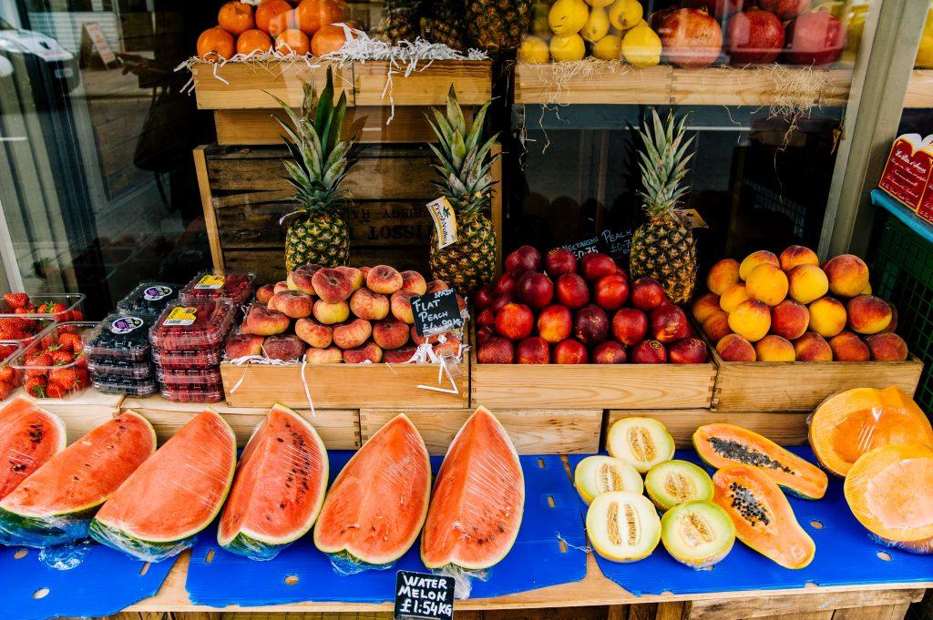 Frutas são alimentos reguladores