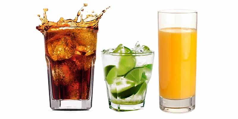 Refrigerante-zero-suco-natural-ou-água