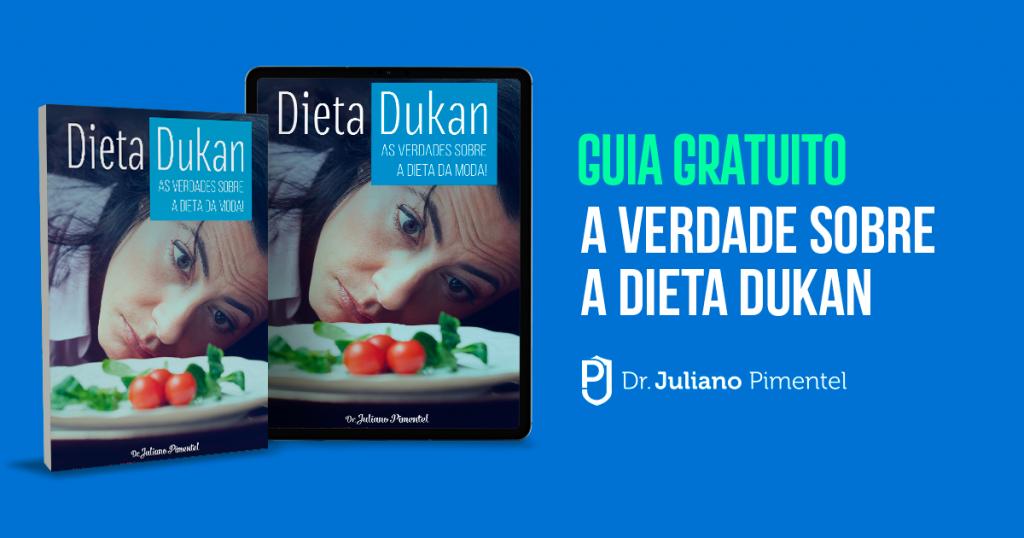 A dieta Dukan necessita de consumo de carboidrato bom.