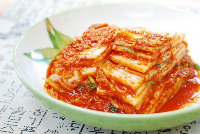 Kimchi é um dos alimentos probióticos