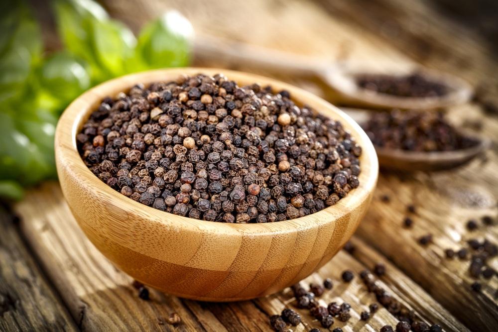 Pimenta preta e perda de peso