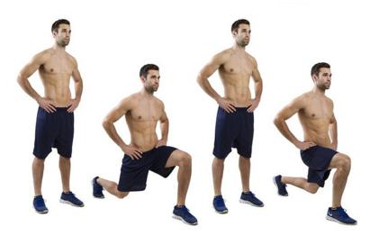 Estocada - exercício calistenia
