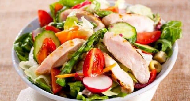 Saladas para a dieta de 1.200 calorias