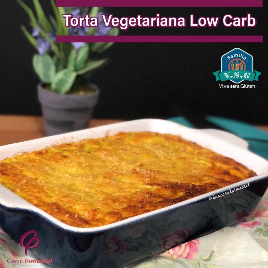 Benefícios dos ingredientes da torta low carb vegana