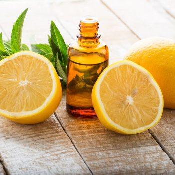 óleos essneciais de limão