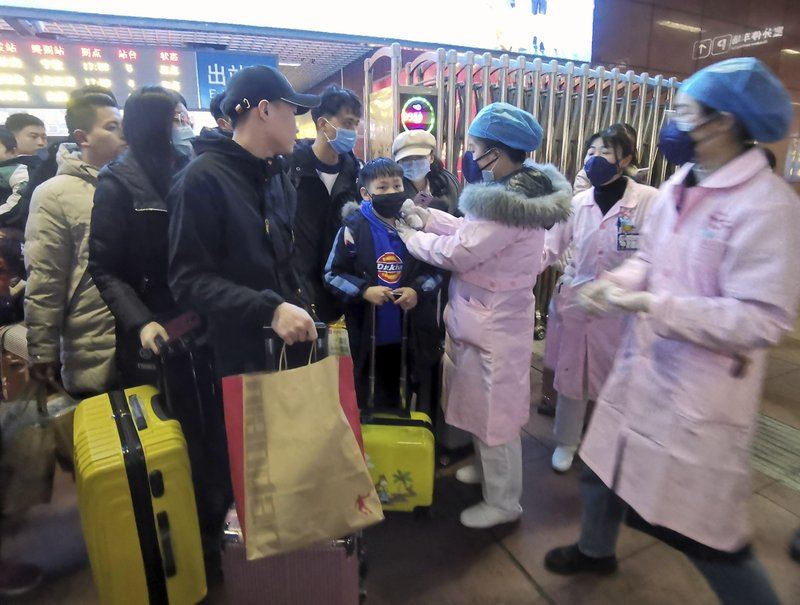 Surto de gripe na China