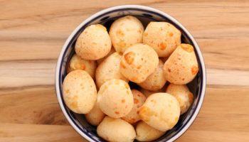 pão de queijo sem queijo